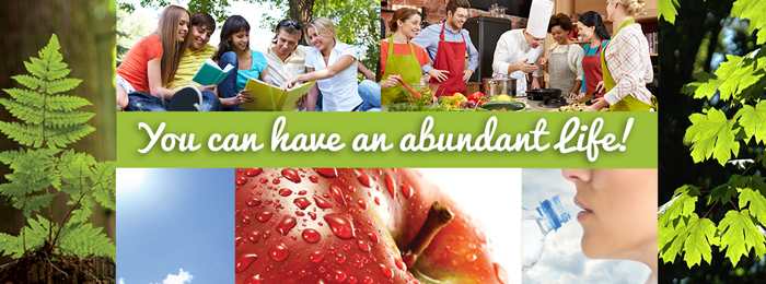 You can have an abundant life!